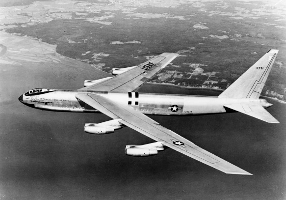 First flown in 1952, the B-52 has surpassed sixty years of continuous service and is expected to serve into the 2040s.  (San Diego Air & Space Museum)