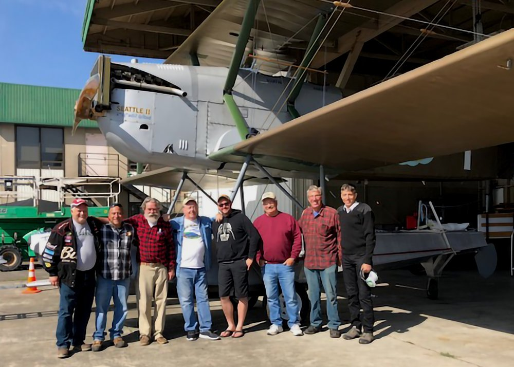 The Crew: Mitch Herrick, Laureano Mier, Bob Dempster, Gary Carmichael, Logan Shepard, Kent McCormack, Peter Orton, James Young (photo by Diane Dempster)