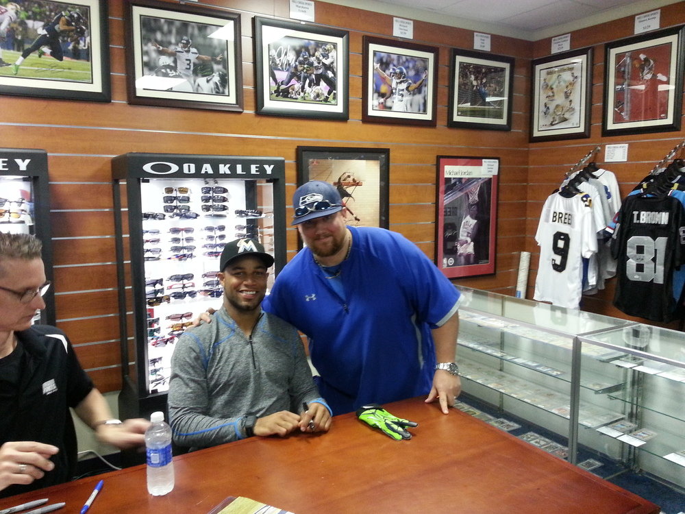 Me and Golden Tate