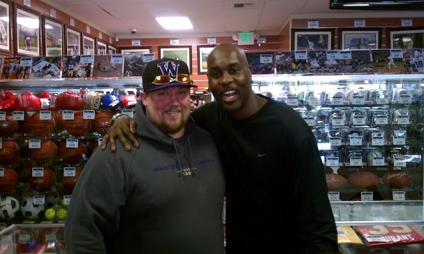 Me and The Glove Gary Payton