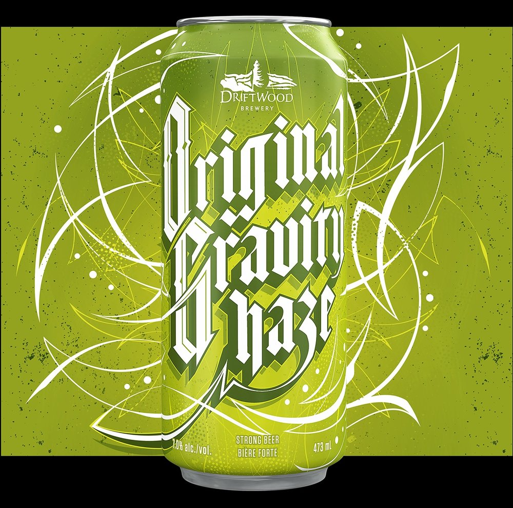 Original+Gravity+Haze+packaging+design%2C+for+Driftwood+Brewery