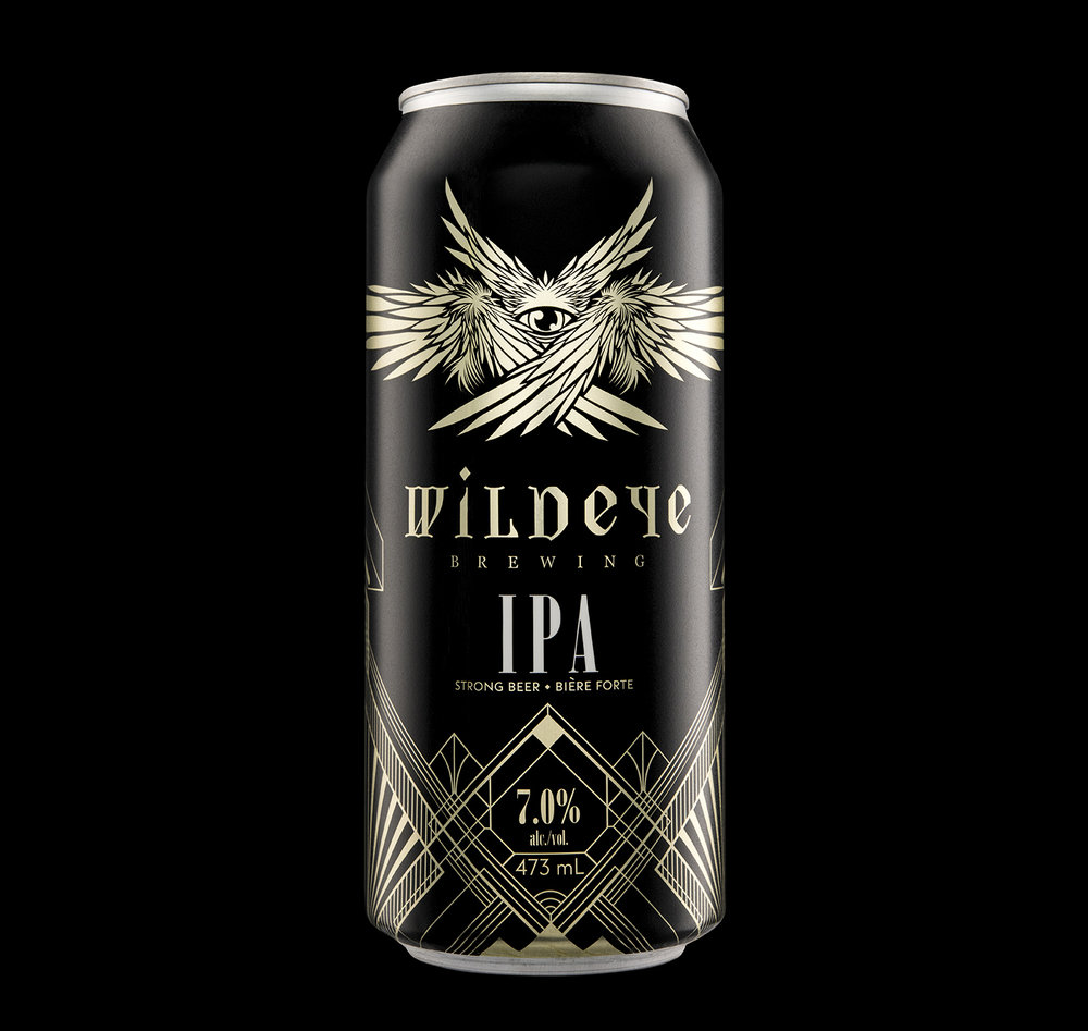 Branding and Packaging Design for North Vancouver's Wildeye Brewing