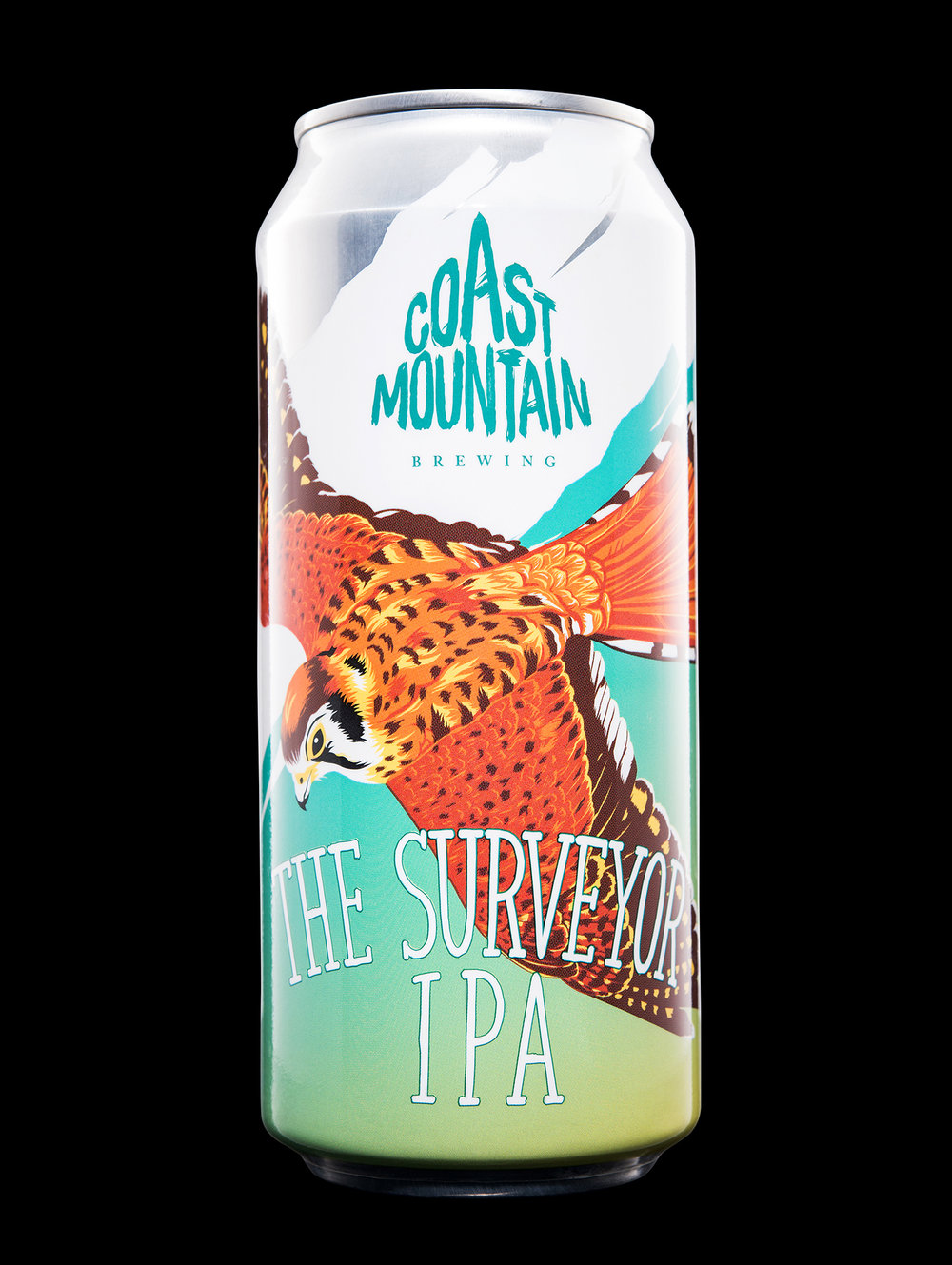 Branding and Packaging Design for Coast Mountain Brewing
