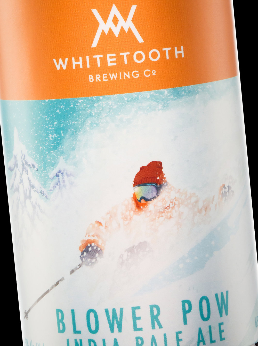 Branding and Packaging Design for Whitetooth Brewing Company