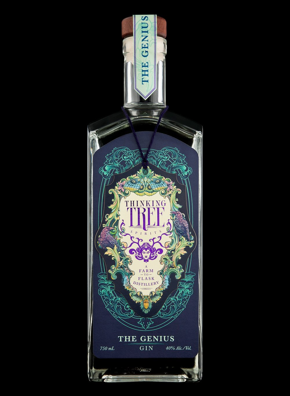 Branding and Packaging Design for Thinking Tree Spirits