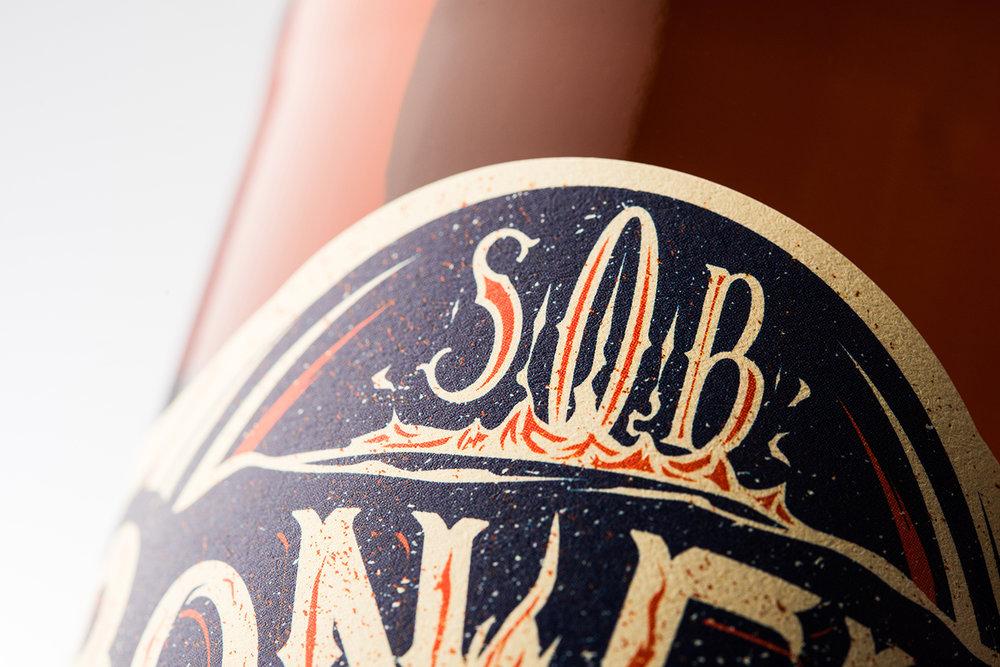 Packaging and Branding for Sooke Oceanside Brewery (SOB)