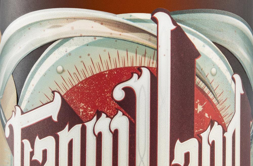 Packaging Design for Driftwood Brewery's Farmhand Saison