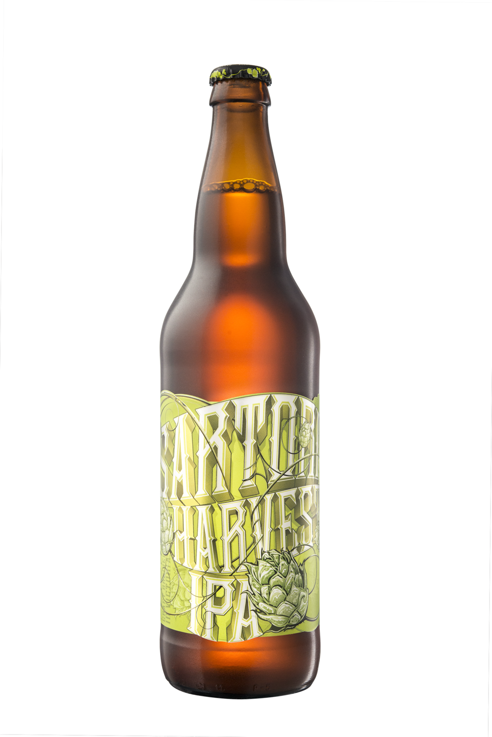 Packaging Design for Driftwood Brewery's Sartori Harvest IPA