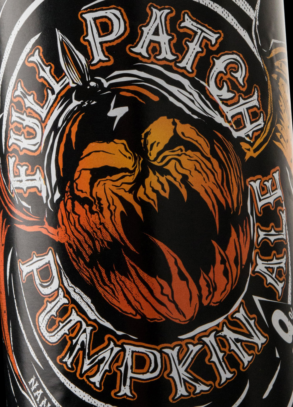 Packaging Design for Longwood Brewery's Full Patch Pumpkin Ale