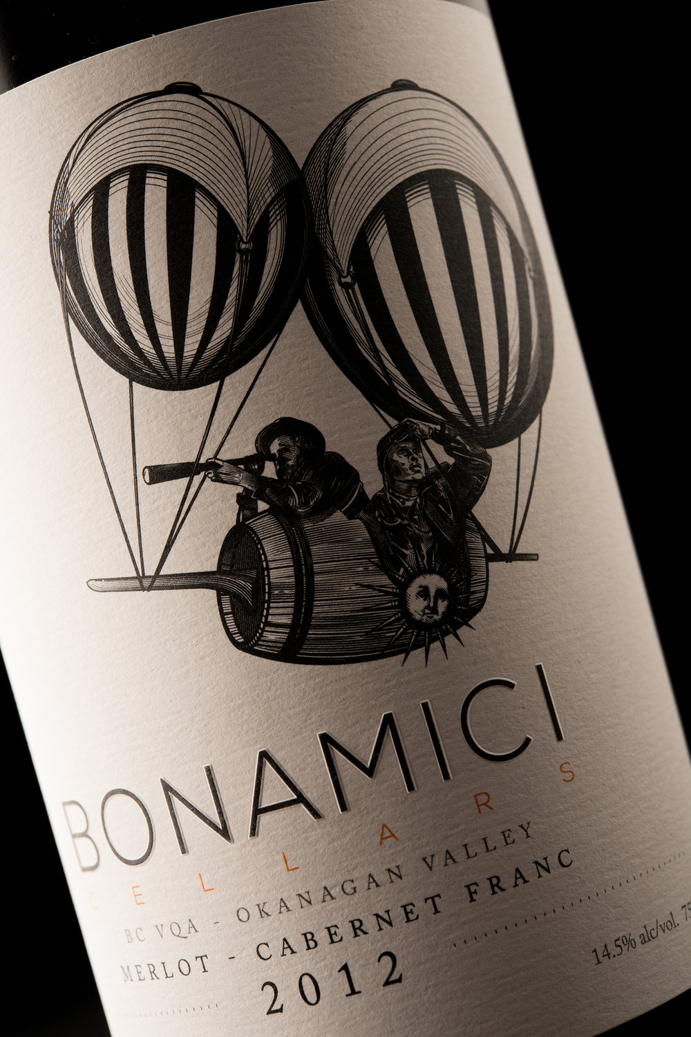 Packaging and Branding Design for Bonamici Cellars