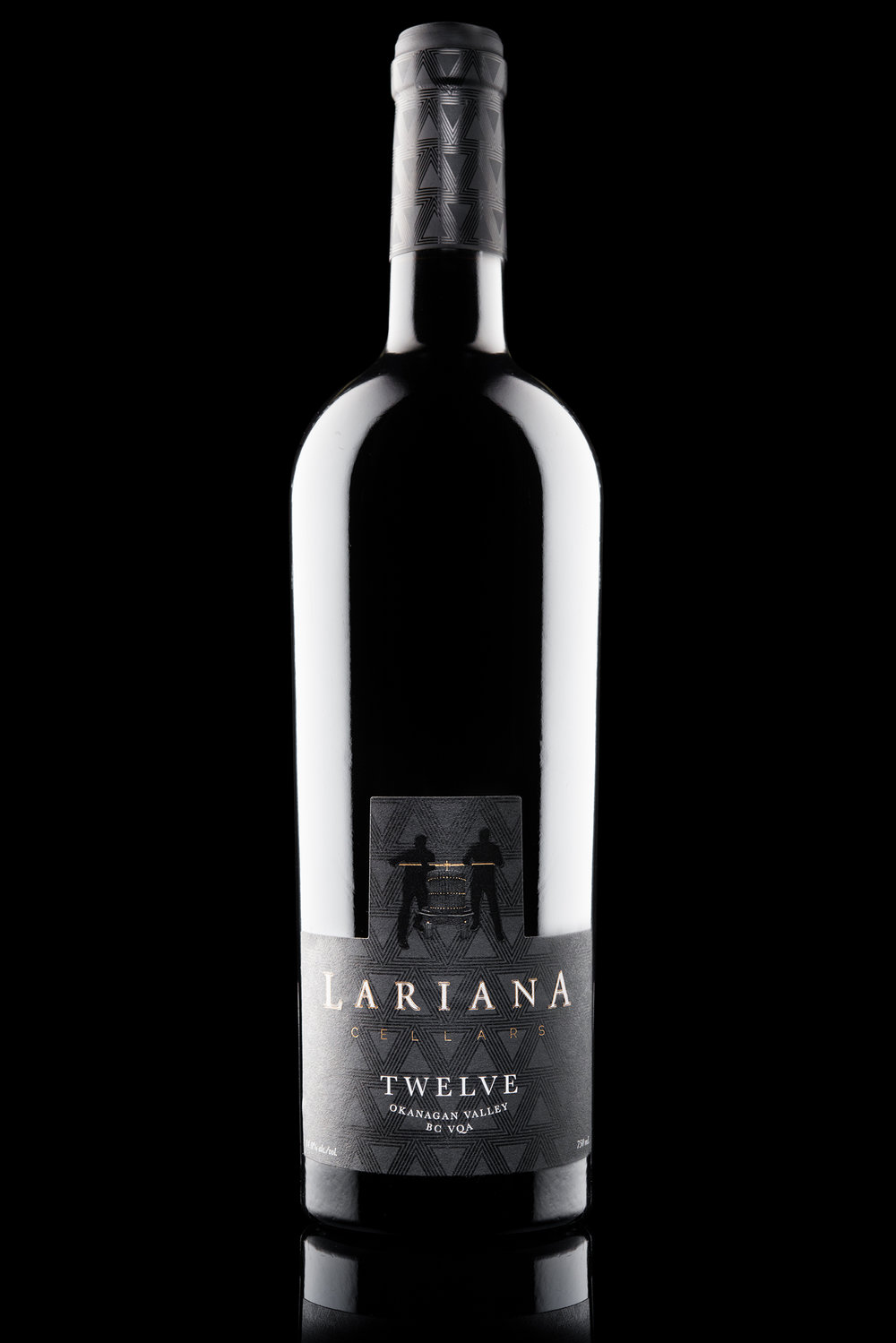 Packaging Design and Branding for Lariana Cellars Wine