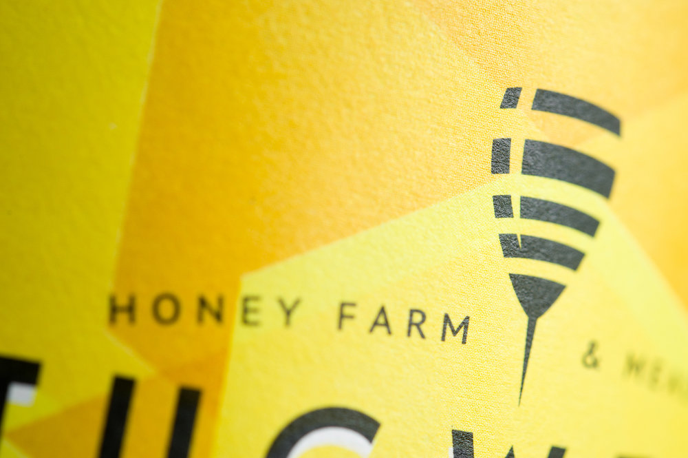 Branding and Packaging Design for Tugwell Creek Honey Farm and Meadery