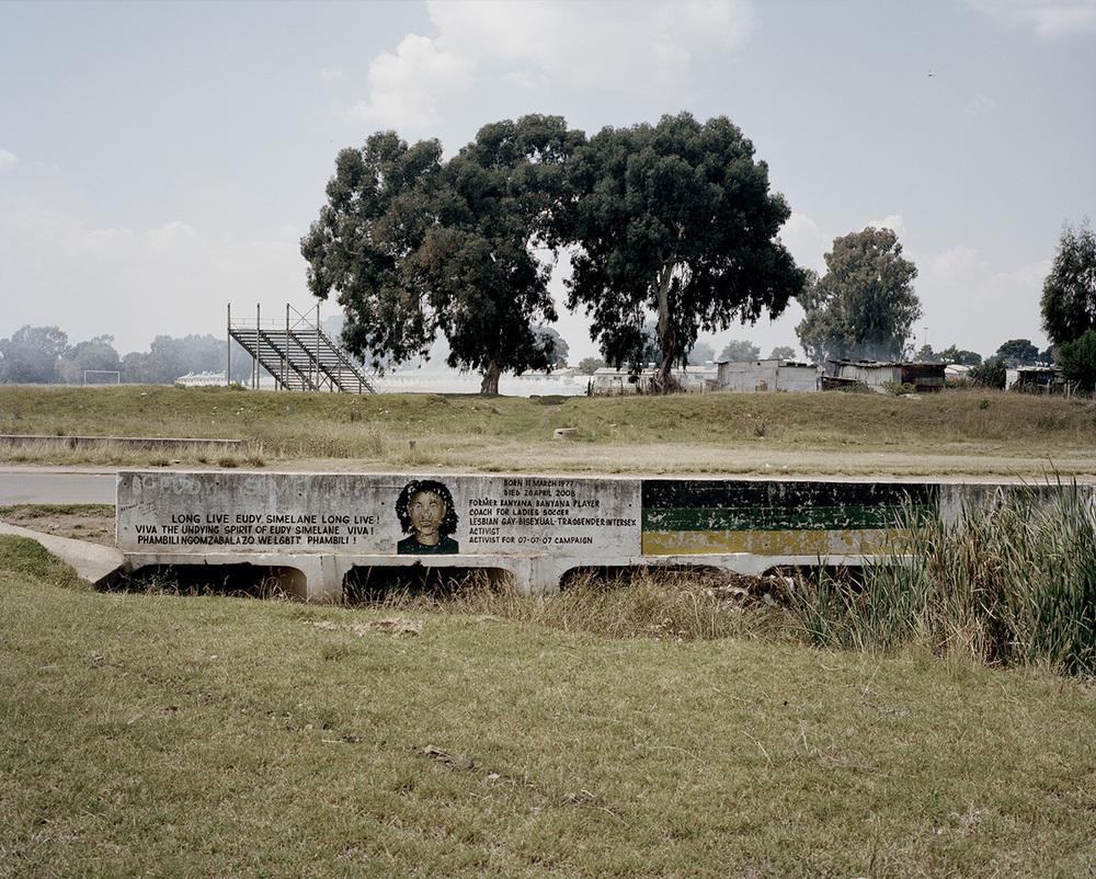 Eudy Simelane, Kwa-Thema, Johannesburg