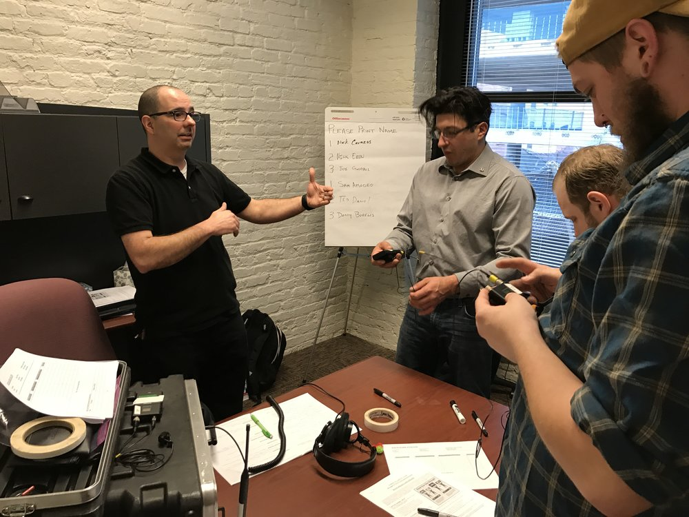 IATSE TTF Train the Trainer: Teaching Techniques and Presentation Skills in Chicago, IL | March 19 & 20, 2017