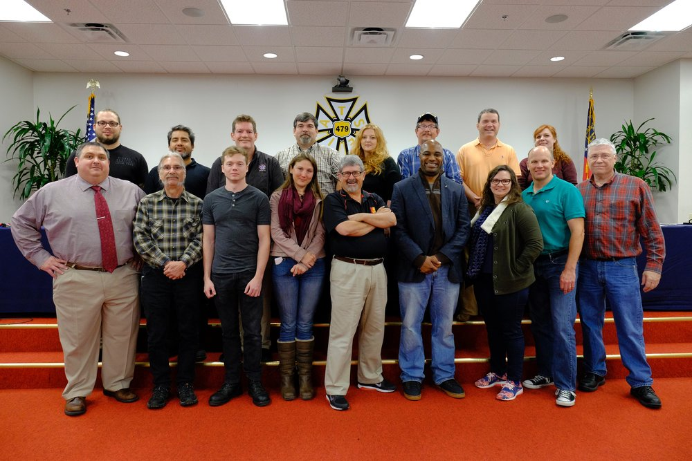 IATSE TTF Train the Trainer in Atlanta, GA | November 12 & 13, 2016