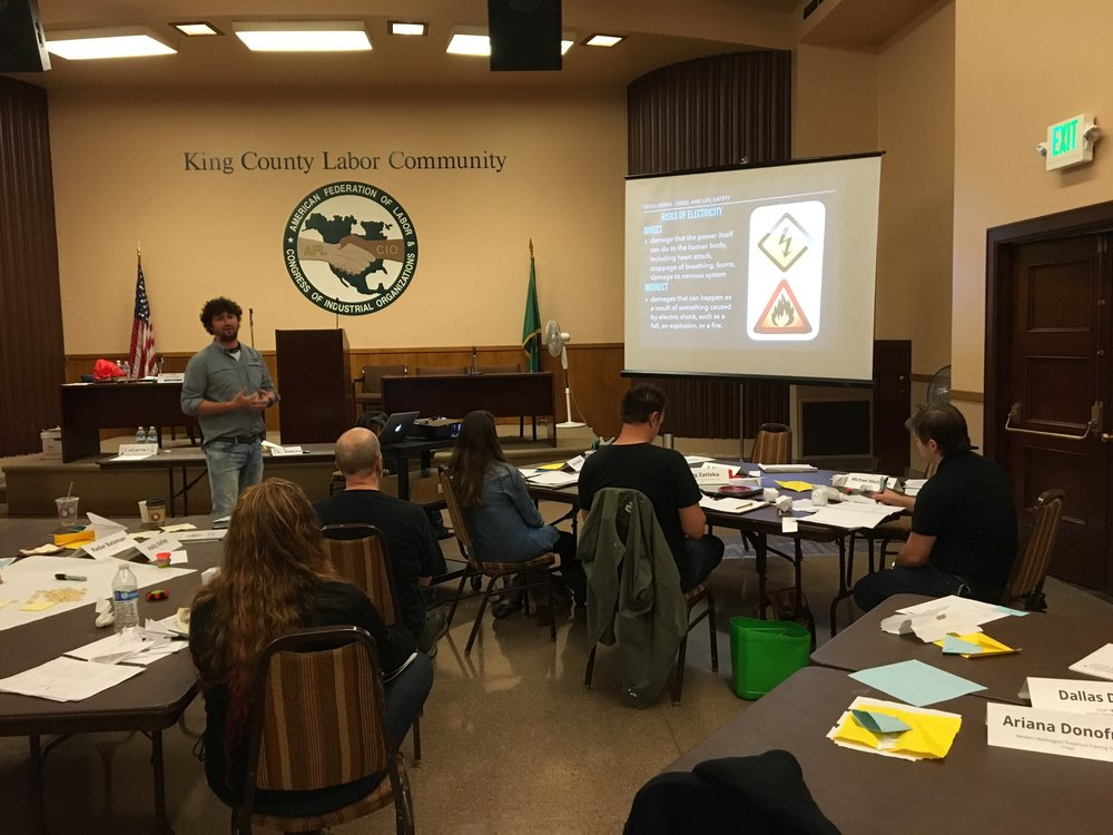 IATSE TTF Train the Trainer in Seattle, WA | September 17 & 18, 2016