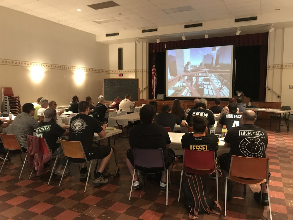 IATSE TTF OSHA 10/General Entertainment Safety in Bethlehem, PA   September 28 & 29, 2017