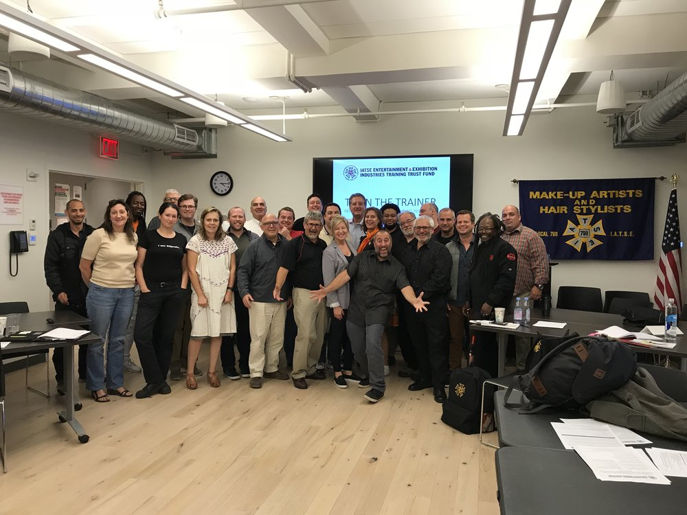 IATSE TTF Train the Trainer: Teaching Techniques and Presentation Skills in New York, NY | October 21 & 22, 2017