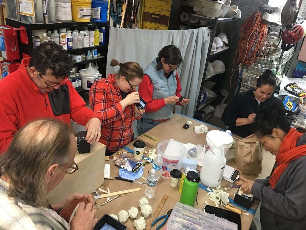 Introduction to Prop Mold-Making & Casting | Local 488 | March 31-April 1, 2018