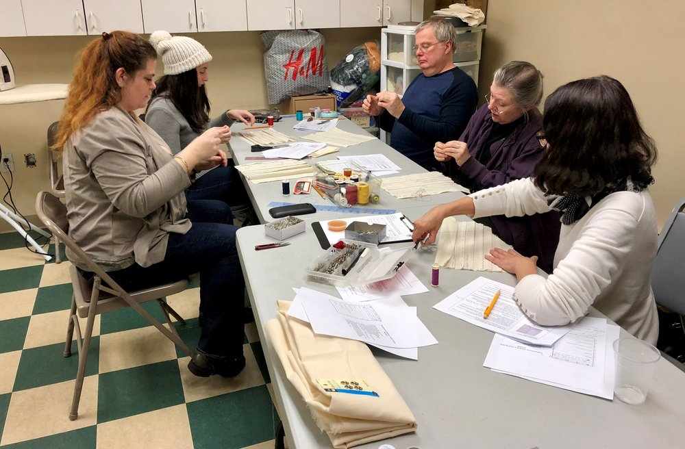 Basic Hand Sewing in New York, NY | February 25, 2018