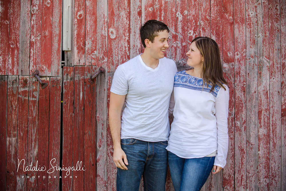 "One of my favorites. We were getting ready to take the picture, when my brother leaned over and whispered ""You were right. This was a great idea"". Being the gracious big sister that I am, I immediately smacked him and said ""I told you so!"""