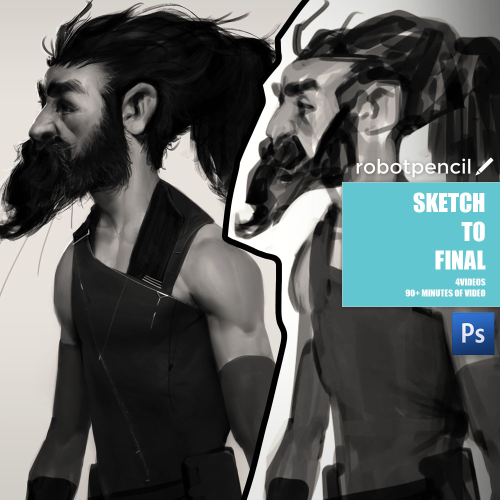 Sketch to Final - Video 1 - KnowingVideo 2 - PracticeVideo 3 - Better SketchingVideo 4 - Demo No CommentaryCLICK HERE FOR DOWNLOAD LINK