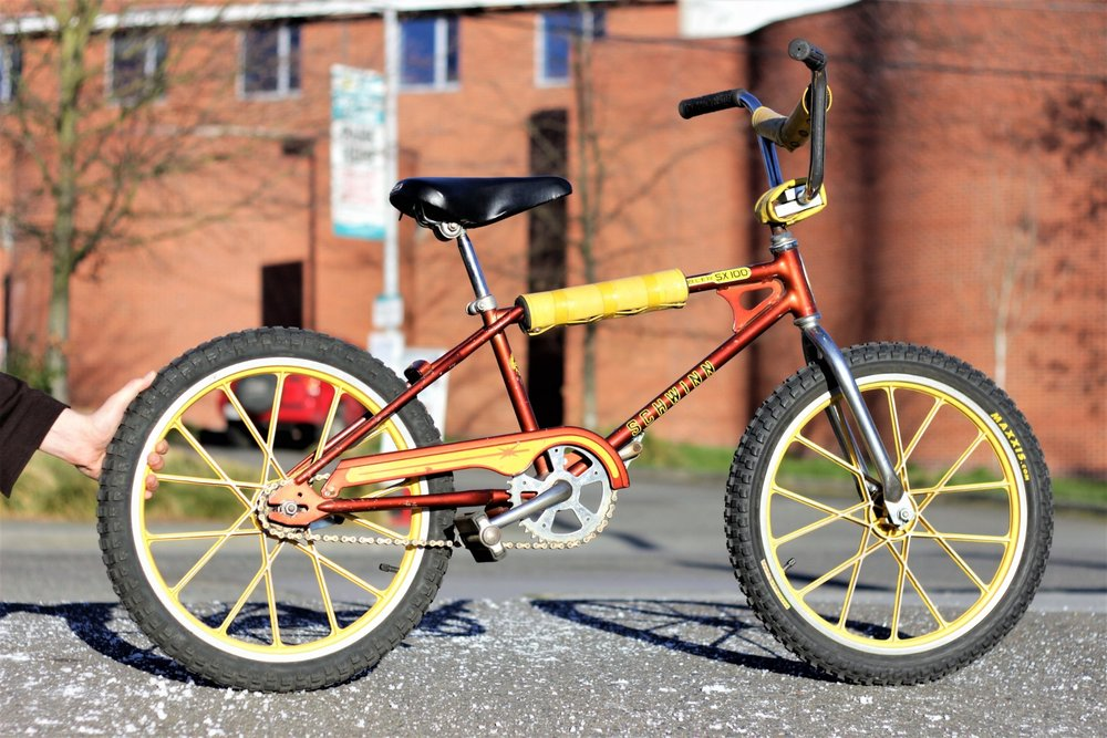 a6e477e1c80 If you have been to Recycled Cycles in the last decade, you might of come  upon this beauty of a bicycle. This MAG Scrambler by Schwinn is a serious  old ...