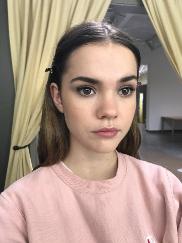 Maia Mitchell  as Angela