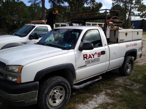 Ray's Commercial Center Secondary Road Service Truck