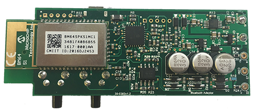 Main pcb with microchip Bluetooth module