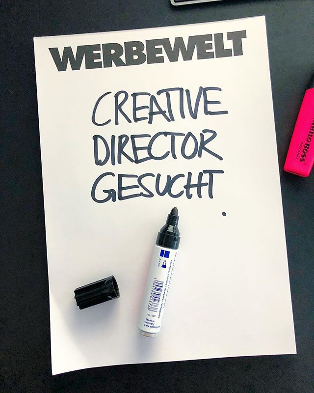 Mann/Frau - wir freuen uns auf deine Bewerbung - link in Bio. #jobs #stuttgart #werbeagentur #creativedirector #creativedirection #creativedirectors #creativeagency #kreativagentur #jobsearch #joinus #stellenangebot #agencylife