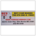 Glen Burnie Car Wash Coupon Book