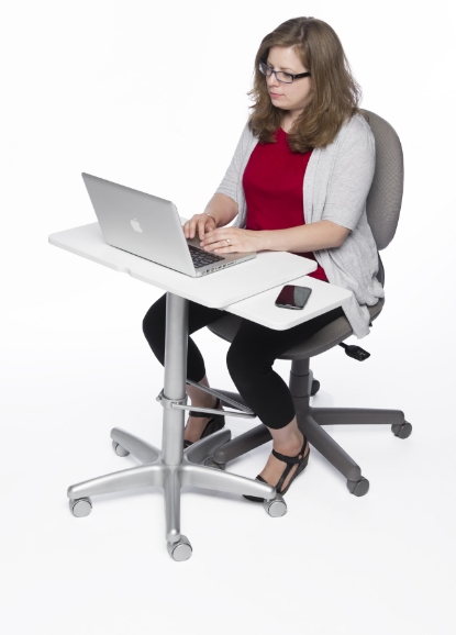 Physical model tested in sitting position.