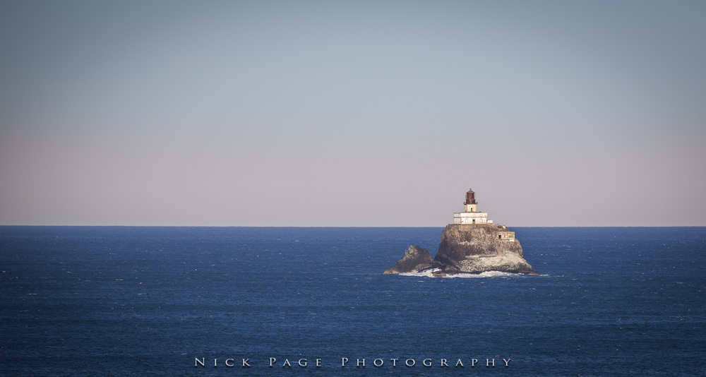 Tillimook lighthouse, shot from Ecola State Park