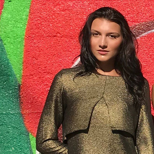 @madisonannx #glowing in #gold #AgainstAllOdds #autumnwinter2018 #lookbook #chicago #fashion #photography #chicagodesigner #fashtag #glow #love #igers #add