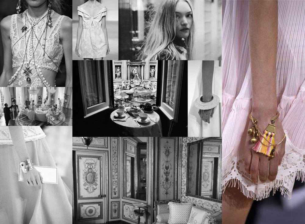 Alexander McQueen, Gemma Ward, Hermes, Chanel, Chloe