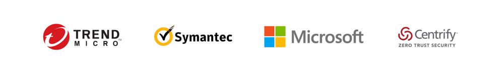Trend Micro, Symantec, Microsoft, Centrify