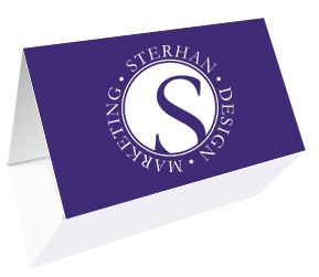 The benefits of a folded business card sterhan graphic design most business cards are flat so when you add a fold your card immediately stands out from the colourmoves
