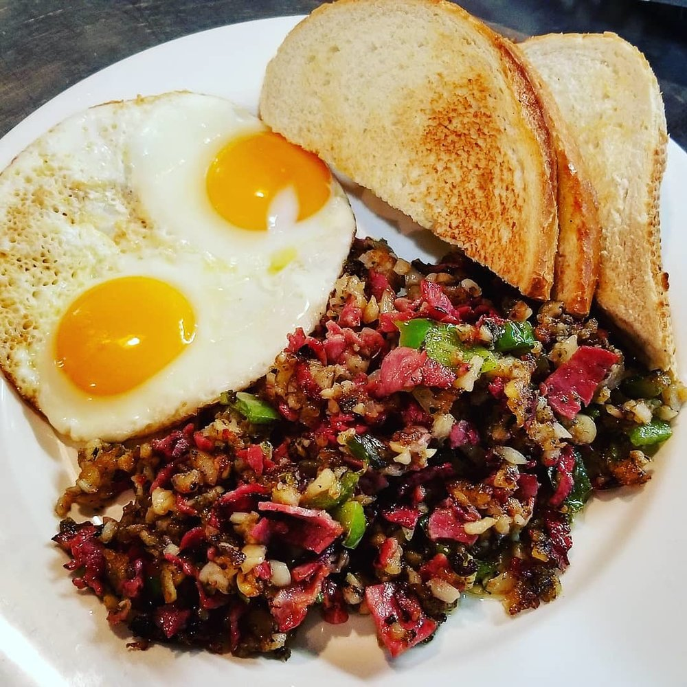 Corned Beef Hash the way it's meant to be made, FRESH EVERYTIME!