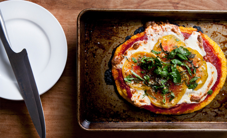 HEIRLOOM POLENTA PIZZA
