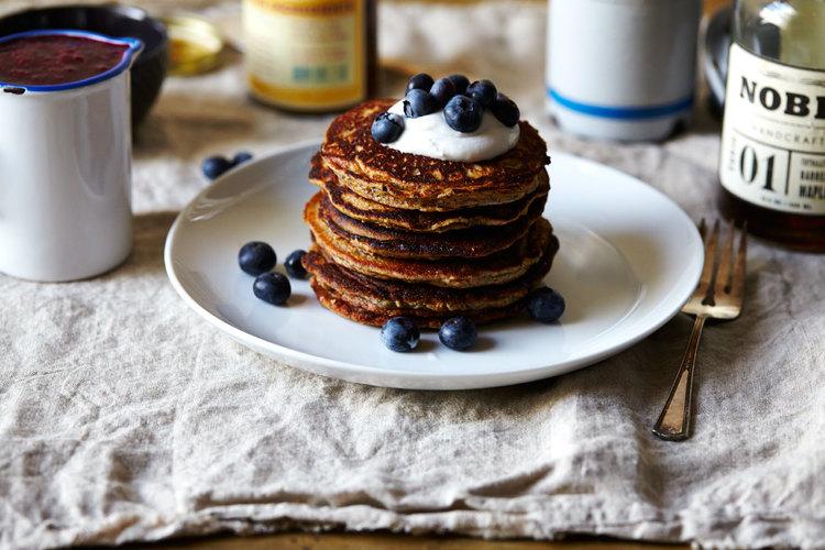 Sorghum Buttermilk Pancakes
