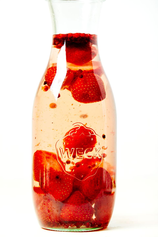 Strawberry alcohol