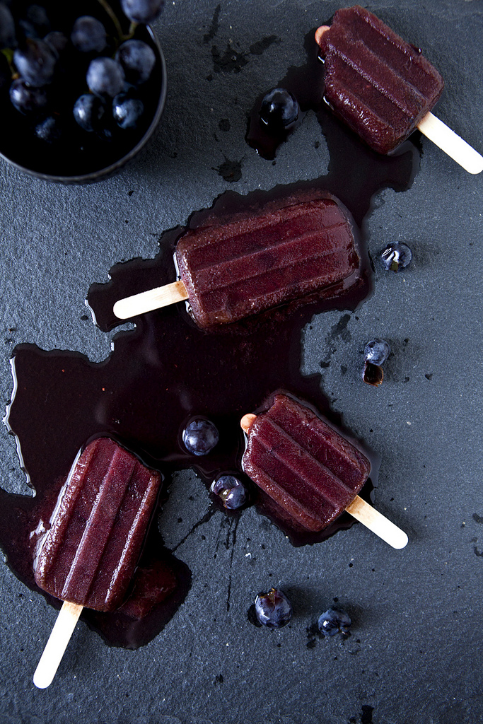 Concord Grape & Lemon Zest Popsicles (GF, V+)