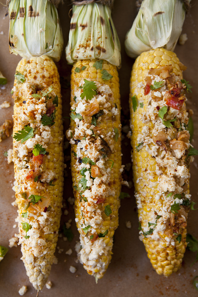 Mexican-Style Roasted Corn (GF, V)