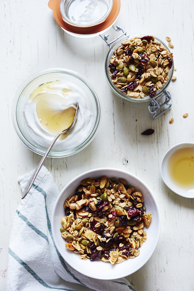 Cranberry Pumpkinseed Granola (GF, V+)