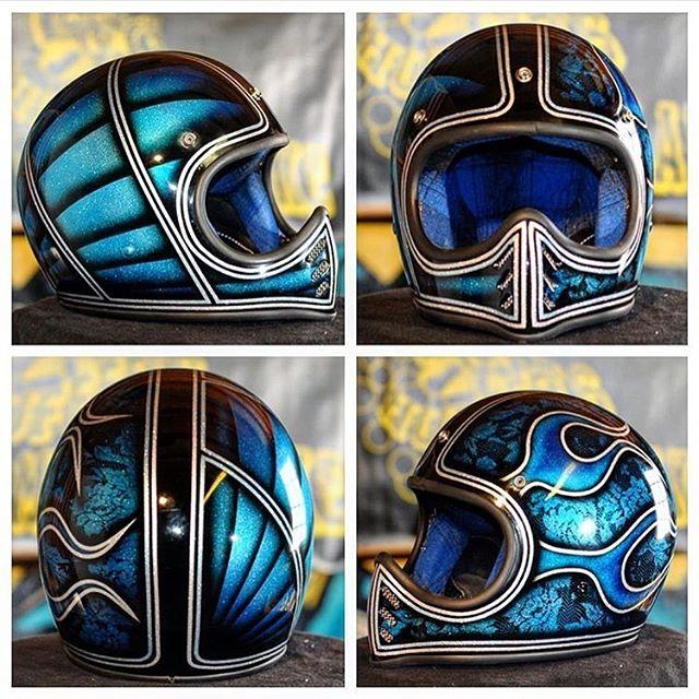 Helmet. @painthuffermetalflake mini and micro silver flake. #845motorcycles #painthuffermetalflake #joel845 #beetlehelmet