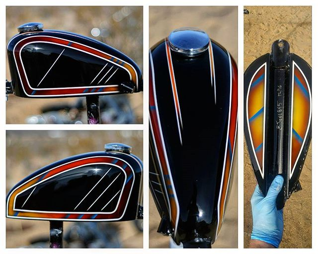 Mini narrow sportster @throttle_addiction tank. #joel845 #845motorcycles