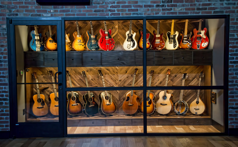 Haxton Guitar Vault (Guitars from 1930's to Present)