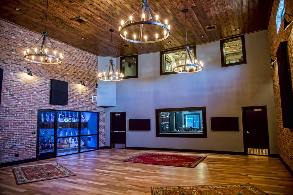 Haxton Road Studios Live Room (Studio A)