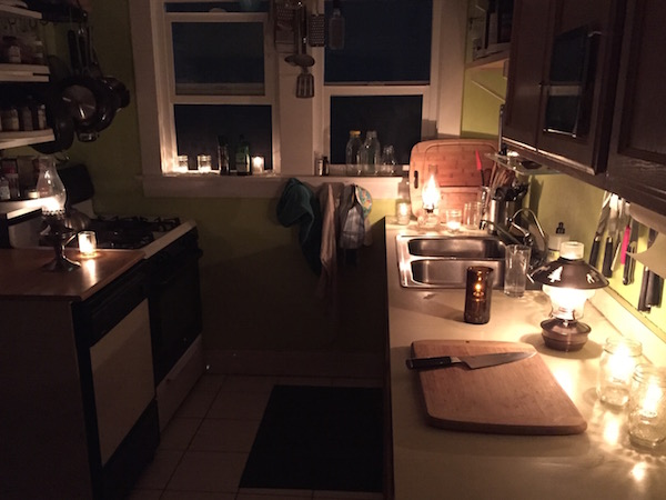 Cooking by Candlelight